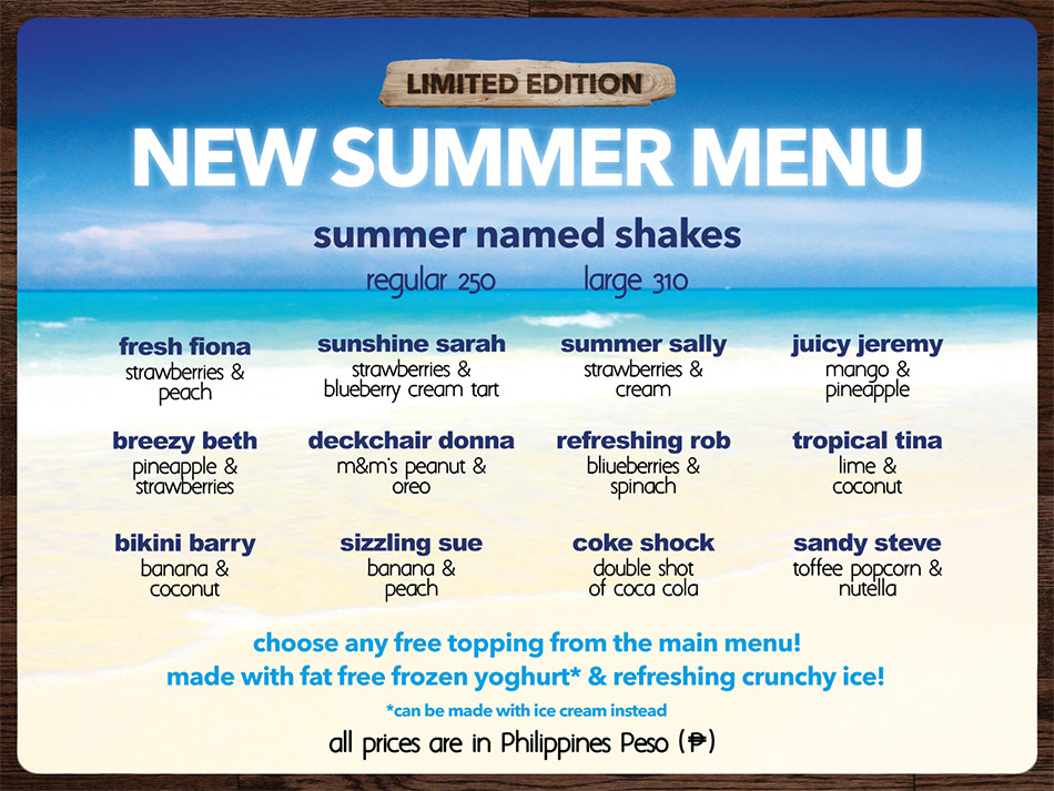 SHAKEAWAY-PHILIPPINES SUMMER WEB MENU 2018