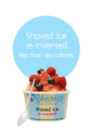 SHAVED ICE ICON NO CALORIES
