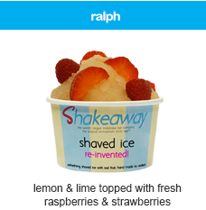ralph shaved ice