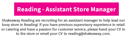 reading assistant store manager nov 2016