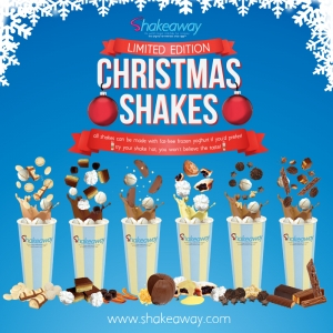 Our Christmas shakes have arrived!