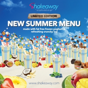 Shakeaway's limited-edition Summer menu has launched!