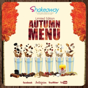 Shakeaway Autumn news!