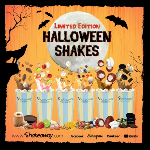 Shakeaway's limited-edition Halloween menu