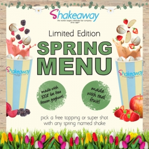 Shakeaway Spring Menu Launch