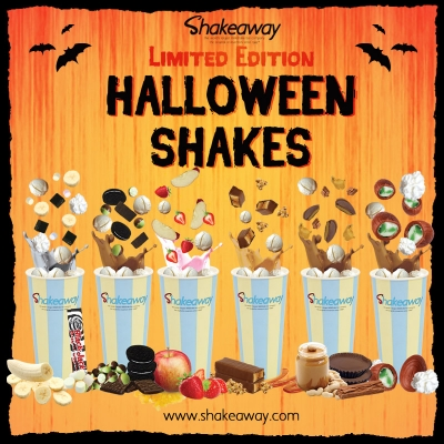 Ready for a Shakeaway spook-tacular?