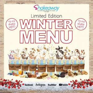 Shakeaway's limited-edition Winter menu is back