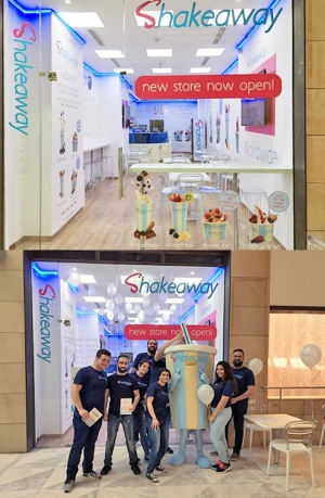 Shakeaway opens in the Lebanon
