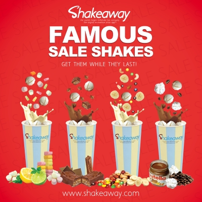The famous Shakeaway sale