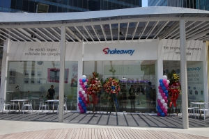 Shakeaway comes to Bonifacio Global City, the Philippines