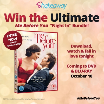 We team up with Warner Bros for a 'Me Before You' exclusive competition