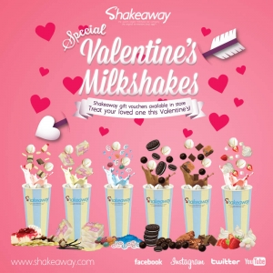 Love is in the air at Shakeaway this Valentine's