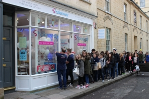 Bath re-opened with a grand relaunch party