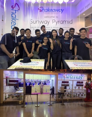 Shakeaway's brand new store opens in Malaysia