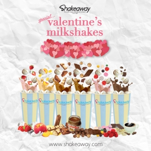 Shakeaway's limited-edition Valentine's menu