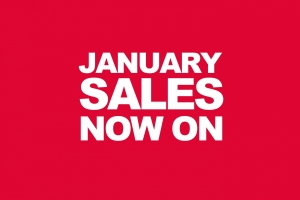 Our famous January Sale – Starts Today!